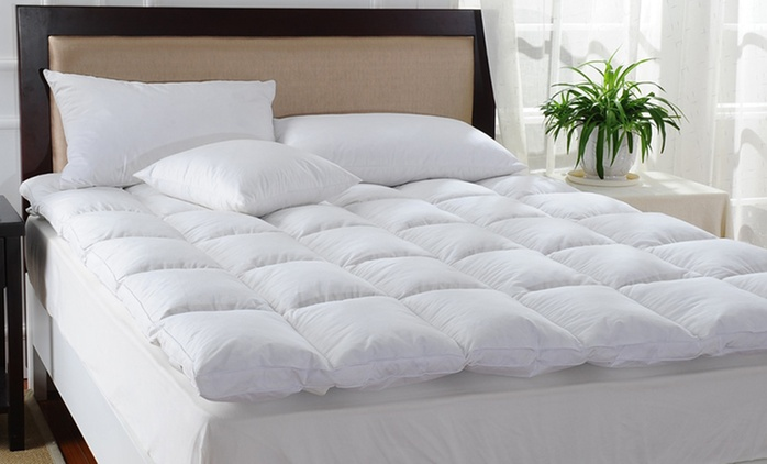 Goose Mattress Topper - From $59 for 1,000GSM or From $69 for 1,200GSM