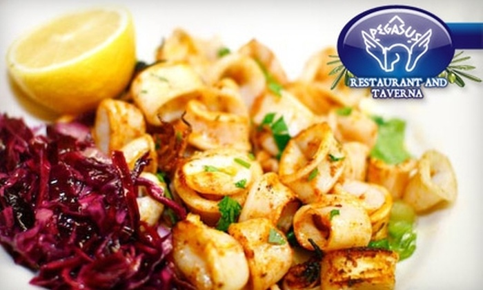 Pegasus Restaurant and Taverna - West Loop: $20 for $40 Worth of Greek Fare and Drinks at Pegasus Restaurant and Taverna