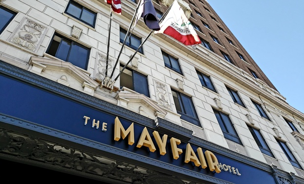 The Mayfair Hotel Los Angeles Ca Stay At In