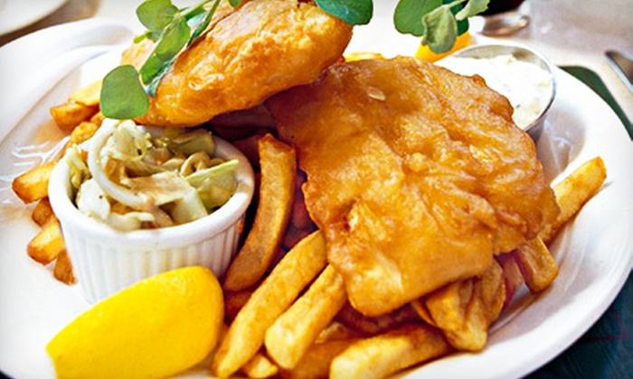 Irish Embassy Pub and Grill - Toronto: $15 for $30 Worth of Homemade Pub Fare and Drinks at Irish Embassy Pub and Grill