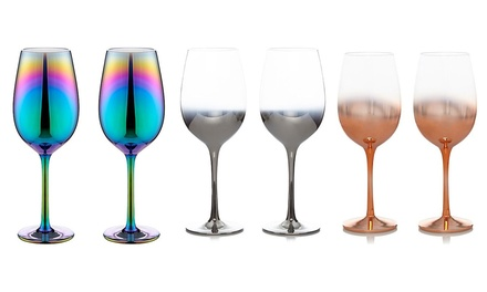 Set of Aurora Wine Glasses