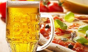 Bon Kafe: Desde $169 por empanadas + pizza con cerveza para dos o cuatro en Bon Kafe