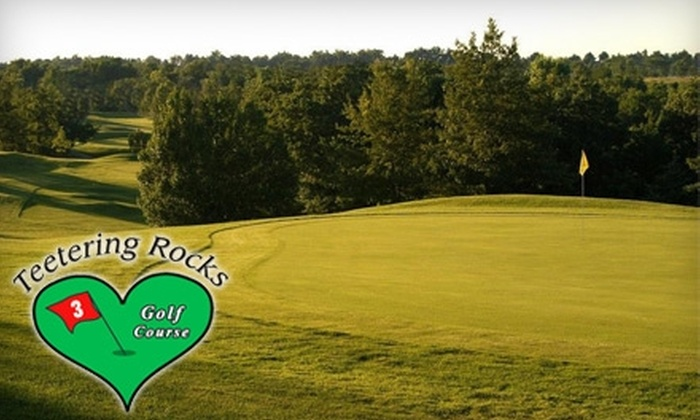 Teetering Rocks Golf Course - Highview Estates: $29 for 18 Holes of Golf for Two and a Cart at Teetering Rocks Golf Course