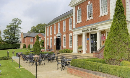 Warwickshire: 4* Country Manor Stay 4 with Dinner or Landmark Tickets at Best Western Plus Manor Hotel Meriden