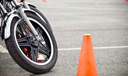 Formation 50 cm³ (BSR), 125 cm³ ou accélérée au permis moto dès 129 € avec D.F.P Conduite