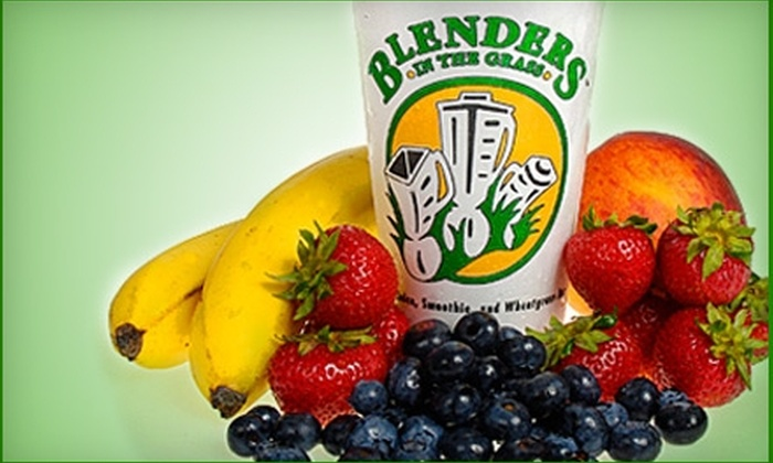 Blenders In The Grass - Multiple Locations: $5 for $10 Worth of Smoothies, Fresh Juice, and More at Blenders in the Grass