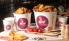 Friends Bucket avec poulet frit
