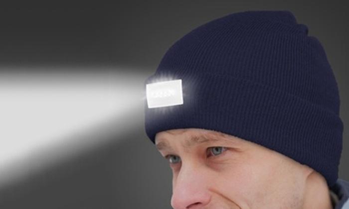 Up To 90% Off on LED Beanie Headlamp  266d0a63c8e