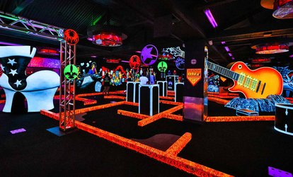 Up to 58% Off Mini Golf at KISS by Monster Mini Golf