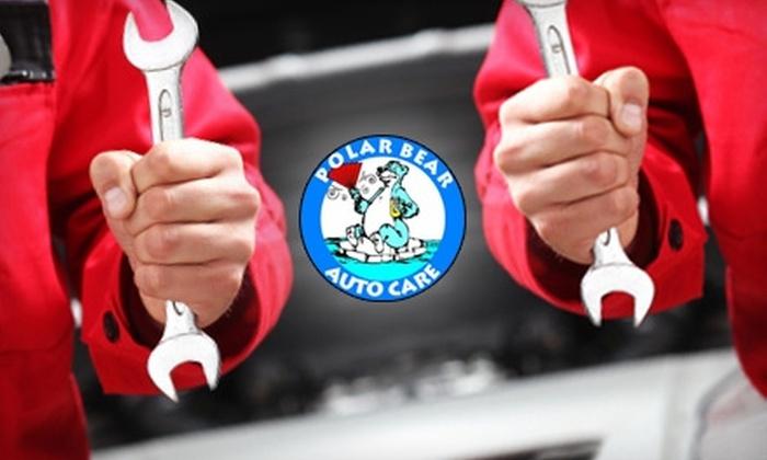 Polar Bear Auto Care - North Sacramento: $15.50 for a Standard Oil Change and 42-Point Inspection at Polar Bear Auto Care