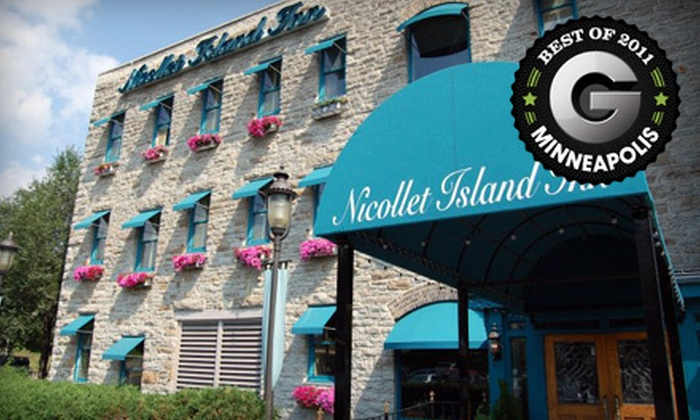 Nicollet Island Inn - Nicollet Island: One-Night Stay for Two with Wine Sunday–Thursday or Friday–Saturday at Nicollet Island Inn (Up to Half Off)