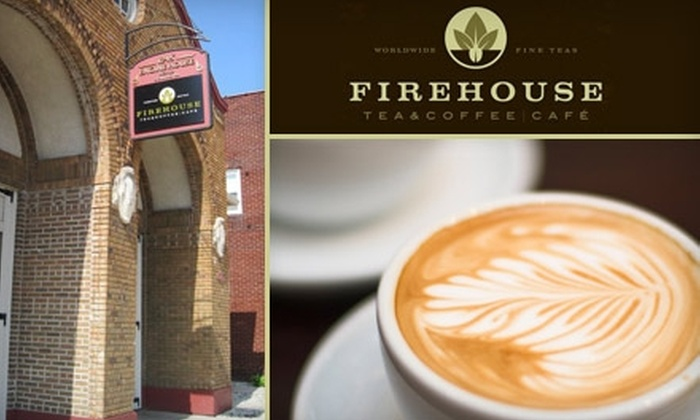 FireHouse Tea & Coffee Café - Fort Wayne: $5 for $10 Worth of Delicious Tea, Coffee, Baked Treats, and More at Firehouse Tea and Coffee Café