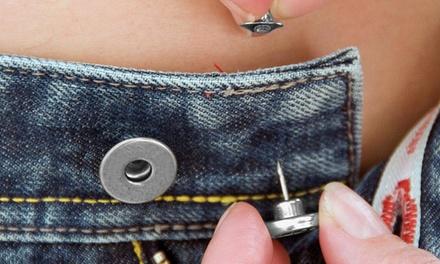 Kit de 8 Boutons magiques pour pantalon, réutilisables