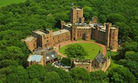 Luxury Spa Day with Two Treatments and Prosecco at 4* Peckforton Castle (Up to 38% Off)