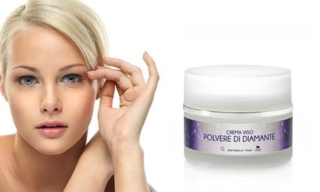 Hasta 3 cremas faciales con polvo de diamante puro con vitamina E y Syn-Ake de Efory Cosmetics