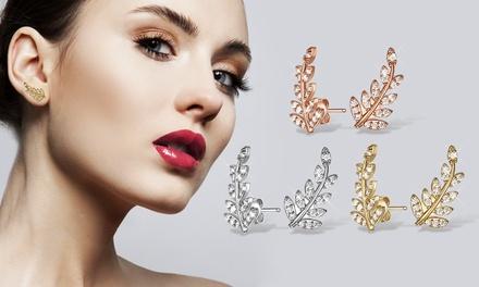 Oorbellen van het merk Mestigé versierd met Swarovskikristallen, incl. verzending