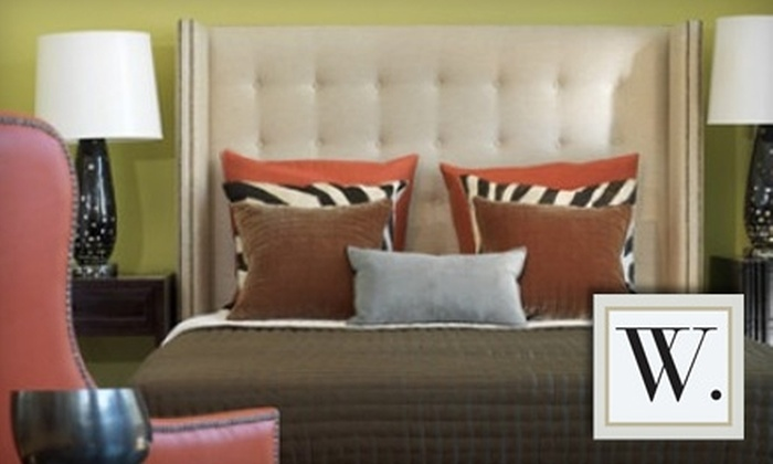 W. Home Furnishings Store - Multiple Locations: $25 for $100 Worth of Home Furnishings at W. Home Furnishings Store