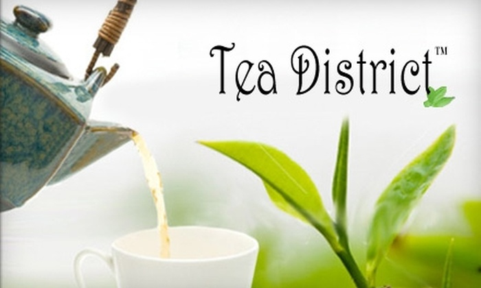 Tea District - New York City: $12 for $25 Worth of Premium Tea and Tea Accessories from Tea District