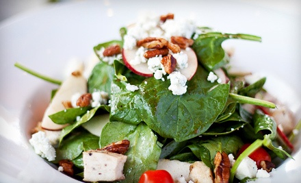 $20 Groupon for Lunch - California Cafe in Palo Alto