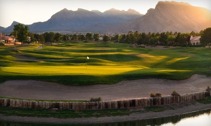 Palm Valley Golf Course at Golf Summerlin - Las Vegas: $34 for 18 Holes of Golf, Cart Rental, and Medium Driving-Range Bucket at the Palm Valley Course at Golf Summerlin (Up to $99 Value)