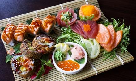 Onbeperkt sushi, Chinese grill en tapas bij La Tim in Breukelen vanaf 2 personen