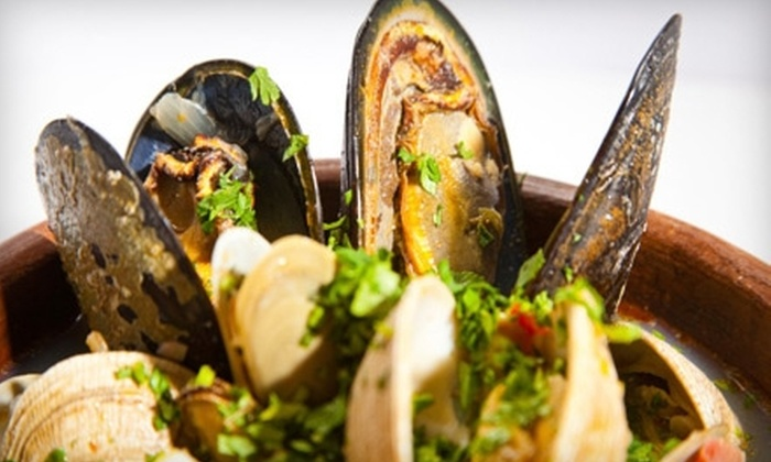 Rusty's Seafood and Oyster Bar - Cape Canaveral: $12 for $25 Worth of Seafood and Drinks at Rusty's Seafood and Oyster Bar in Cape Canaveral