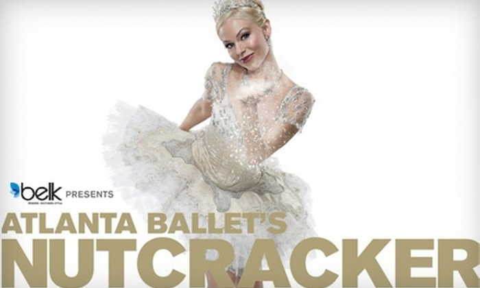 "Atlanta Ballet - Midtown: $45 for a Level-One Ticket to ""Atlanta Ballet's Nutcracker"" (Up to $90 Value). Three Dates Available."