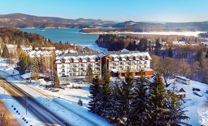 Bieszczady: 2-8 dni dla 2 osób z wyżywieniem, spa i więcej w Hotelu Skalnym Spa