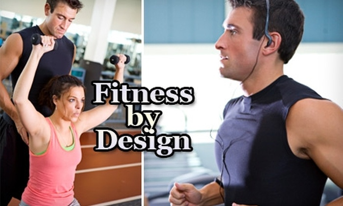 Fitness By Design - Carmel: $39 for One 30-Minute Fitness Consultation and Three 30-Minute Personal-Training Sessions at Fitness By Design ($150 value)