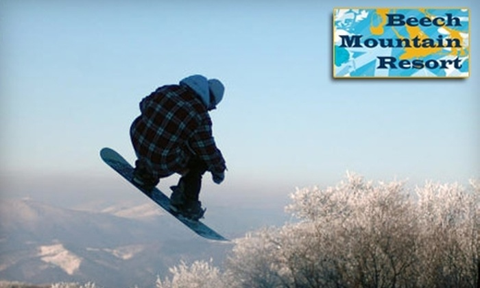 Beech Mountain Resort - Beech Mountain: $30 for Ski-Lift Ticket at Beech Mountain Resort ($60 Value)
