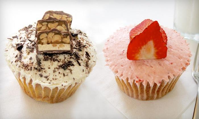 Sara Sara Cupcakes - Downtown Oklahoma City: One- or Two-Dozen Artisanal Cupcakes at Sara Sara Cupcakes. Two Locations Available (Up to 53% Off)