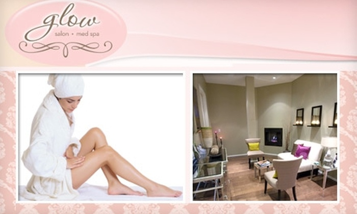 Glow Medical Spa and Salon - Irving: $149 for Six Laser Hair-Removal Treatments from Glow Medical Spa and Salon (Up to $805 Value)