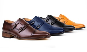 Signature Men's Monk Strap Dress Shoes