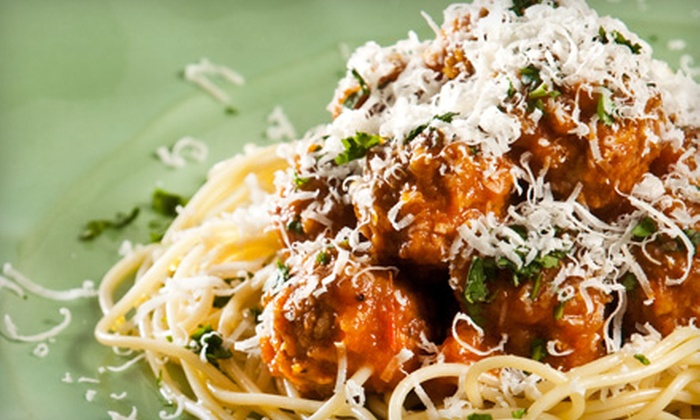 Elsa's Eatery - Shrewsbury: Casual Italian Fare at Elsa's Eatery (Up to 58% Off). Two Options Available.