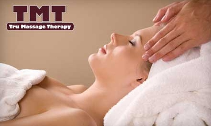 Tru Massage Therapy - Sioux Falls: $25 for a One-Hour Swedish, Deep Tissue, Pregnancy, or Sports Massage at Tru Massage Therapy ($50 Value)