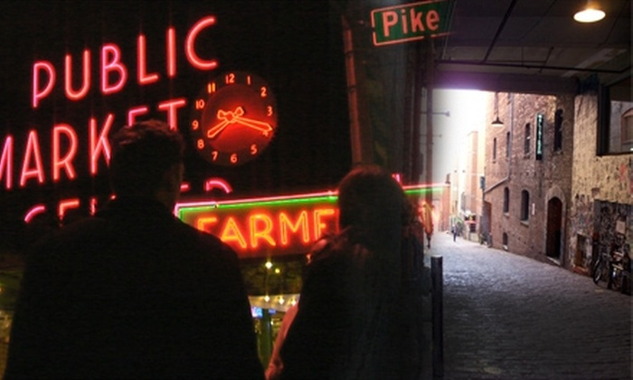 Market Ghost Tour - Pike Place  Market: $8 for Choice of Ghost Tour, History Tour, or Lust Tour ($15 Value)