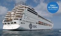 Super Bingo Cruise: Four-Night Maputo and Portuguese Island All-Inclusive Cruise for Two Aboard the MSC Sinfonia