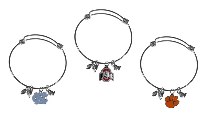 NCAA Charm Bangle Bracelet