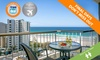 Your Travel Deal - Surfers Paradise: Surfers Paradise: From $649 Per Person for a 5-Night Stay with Flights and Wine at Surfers Beachside Holiday Apartments