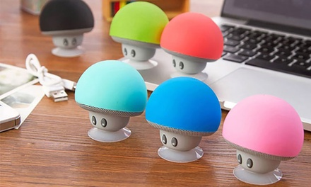 Mini Mushroom Men Bluetooth Speakers from AED 49 (Up to 66% Off)