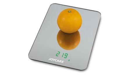 Bilancia digitale Joycare in vetro specchiato e display LCD