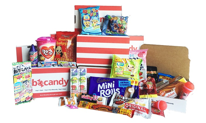 Bocandy: Holiday Box or One-, Three-, or Six-Month Big Box Subscriptions from Bocandy (Up to 67% Off)