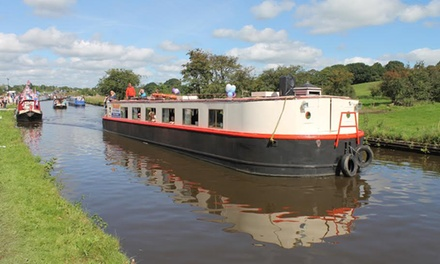 Two-Hour Canal Cruise with Three-Course Dinner for Two or Four with Boatel Party Cruises