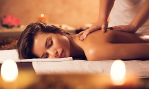 LG Beauty Suite by Lady Glamoureyes: Full-Body Massage and Optional Indian Head Massage or Mini Facial at LG Beauty Suite by Lady Glamoureyes (Up to 71% Off)