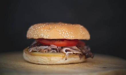 Asporto o consegna: menu hamburger a 9,90€euro