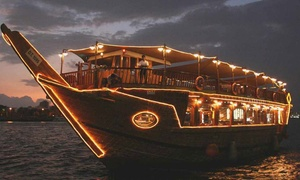 Focal Point Tourism: Creek Dinner Dhow Cruise for One, Two or Four with Focal Point Tourism