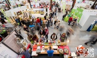 Tageskarte für die vegane Messe VeggieWorld Rhein-Main oder VeggieWorld Hamburg im März