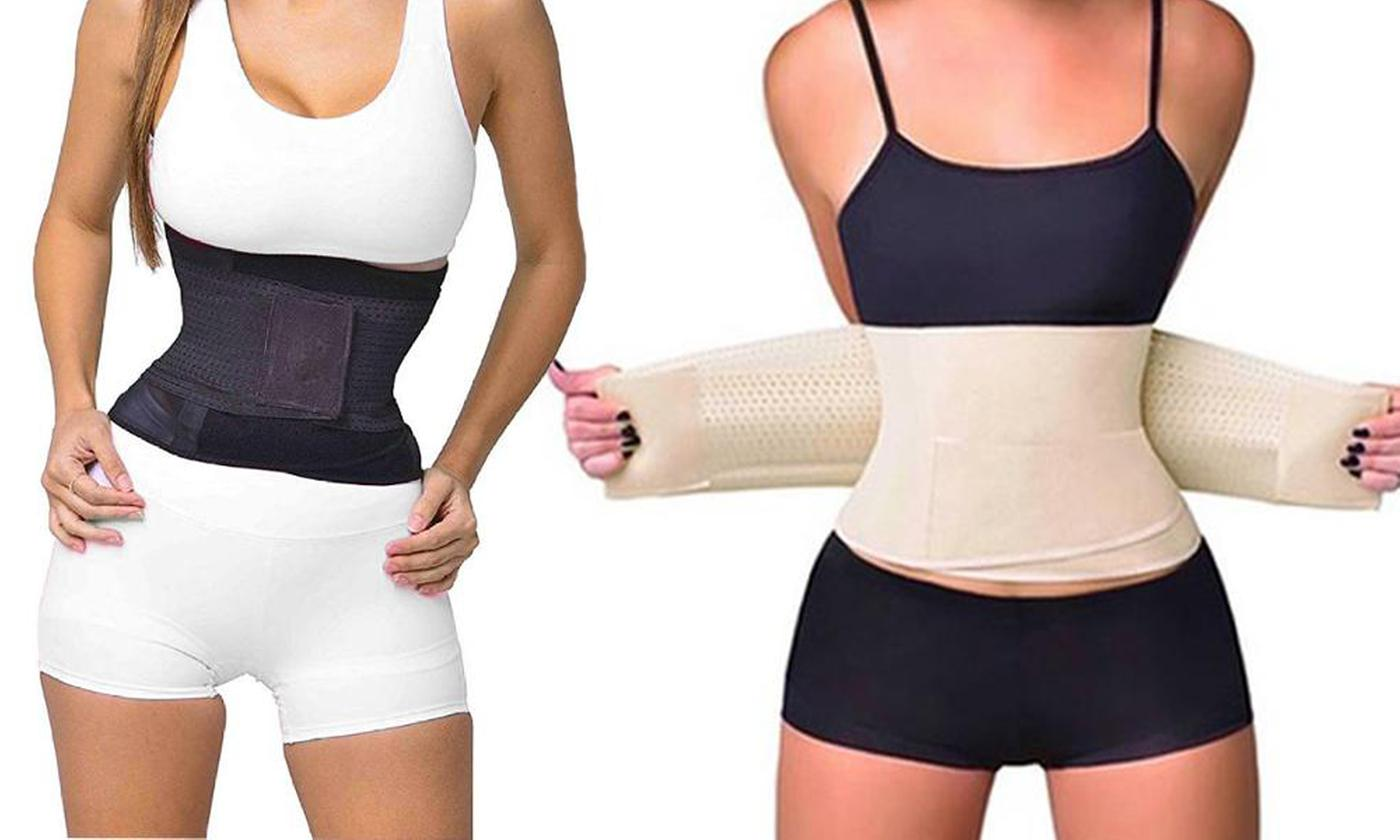 One or Two Double Compression Waist Trainers