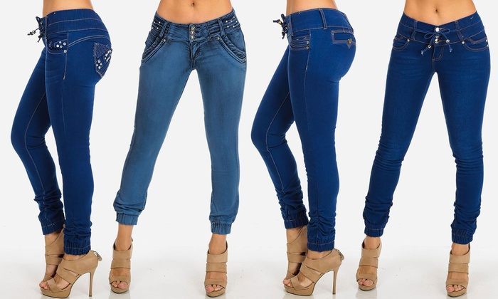 Juniors' Low-Rise Stretchy Ankle Jeans (Size 5)