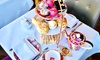 4* Afternoon Tea with Bubbly